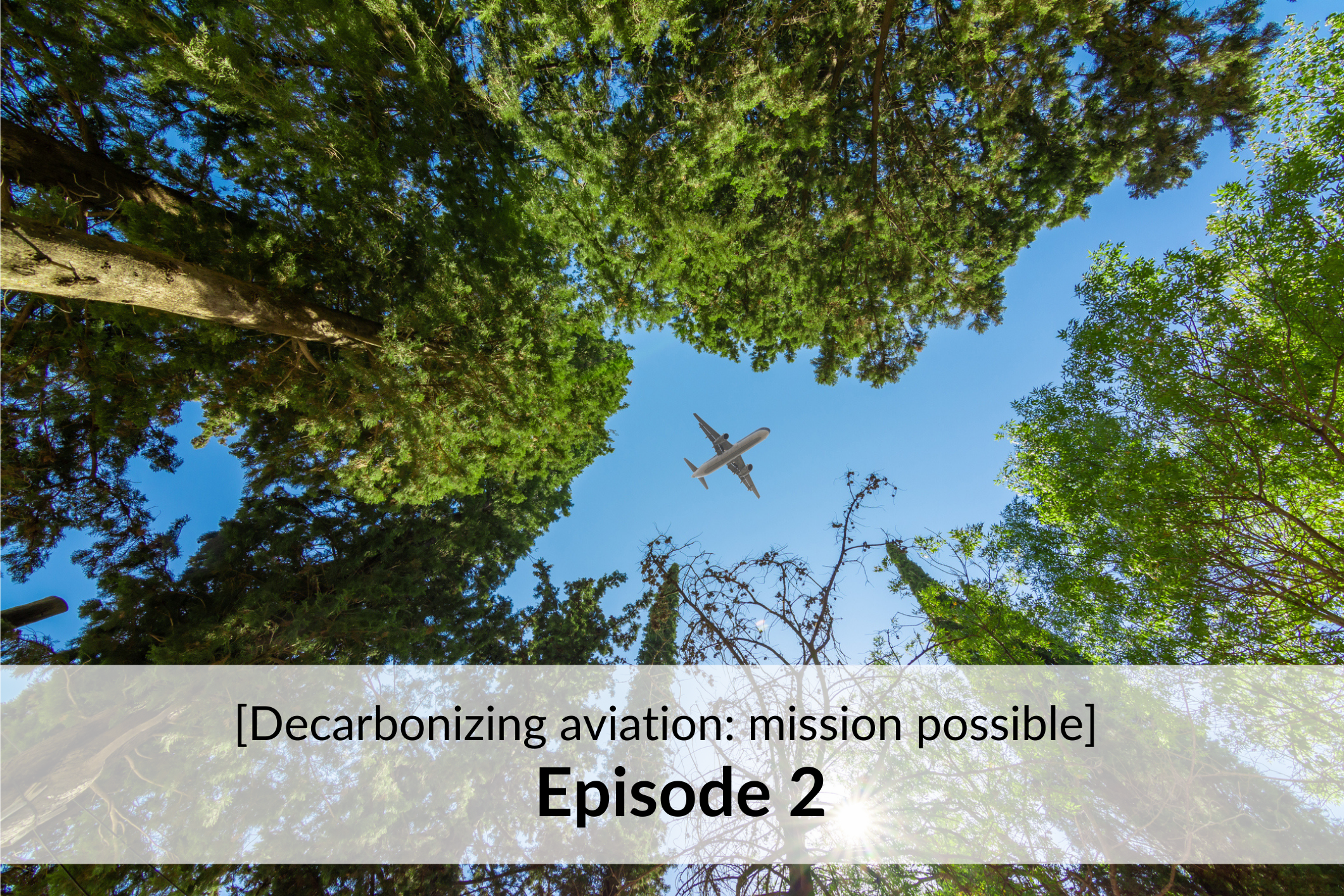 [Decarbonizing aviation: mission possible] - Episode 2