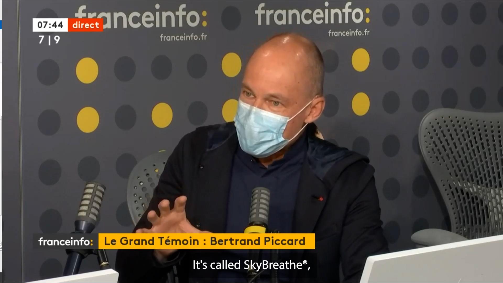 Bertrand Piccard - SkyBreathe