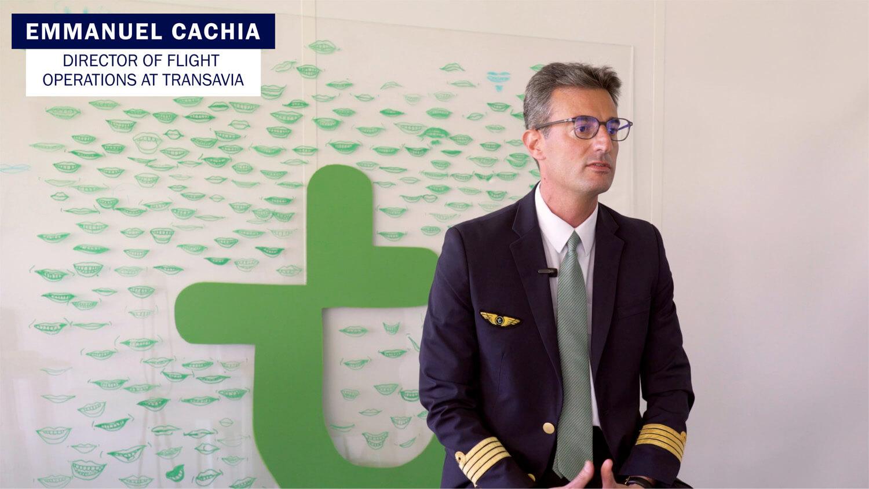 Emmanuel Cachia Transavia speaks about SkyBreathe