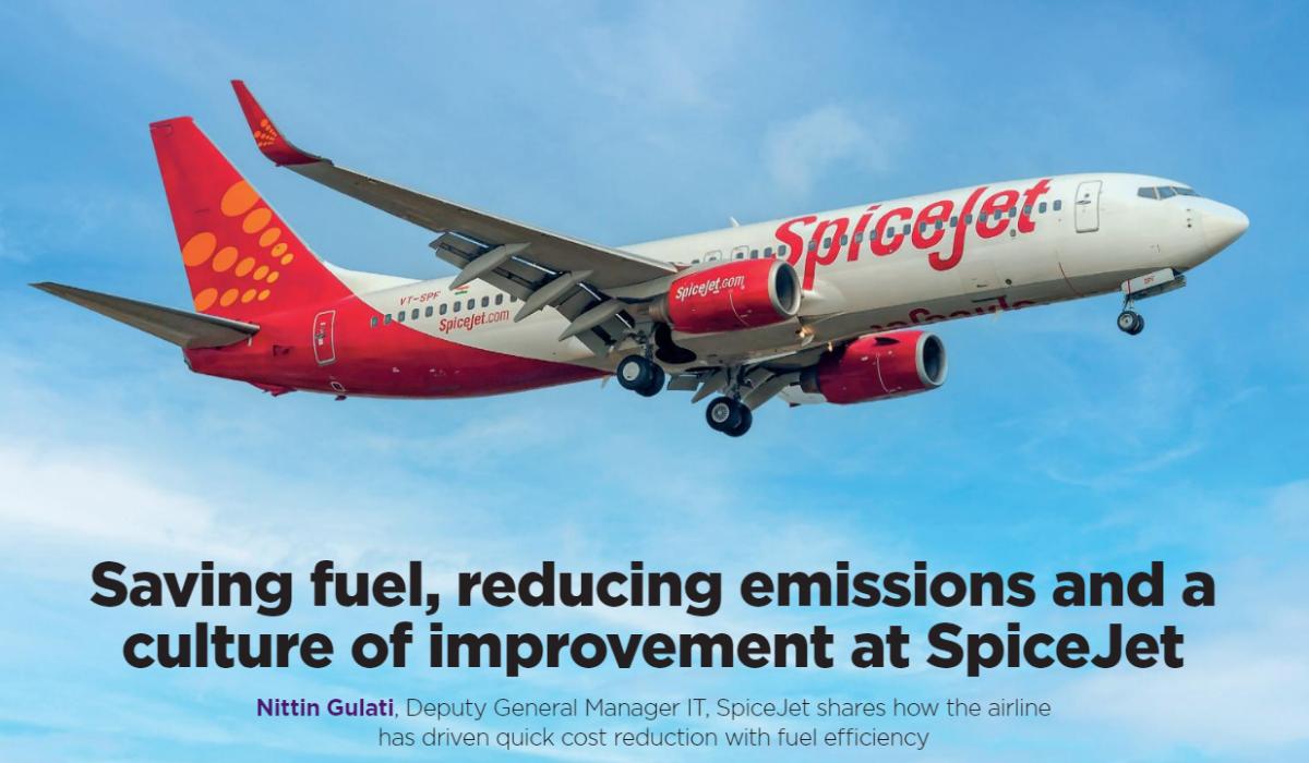 case study spicejet - fuel savings