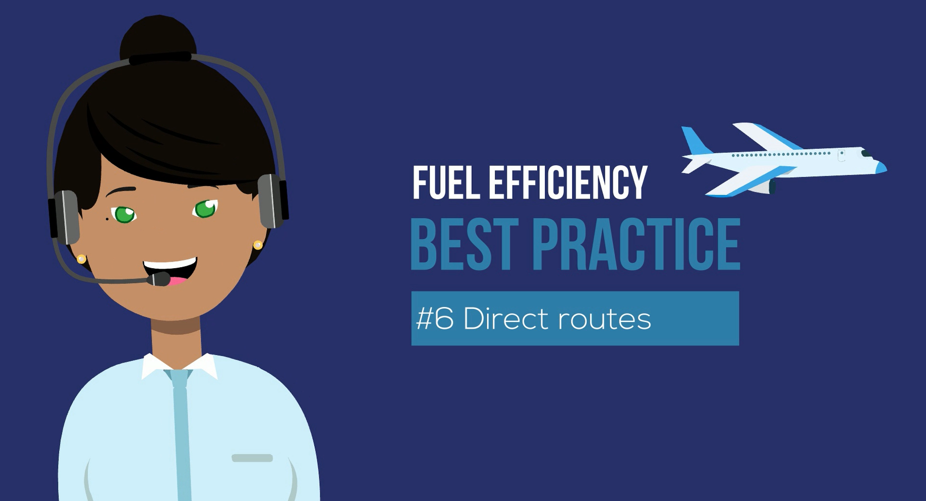 fuel efficiency best practice - direct routes