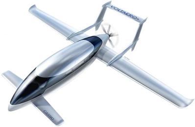 cassio hybrid airplane from VoltAero